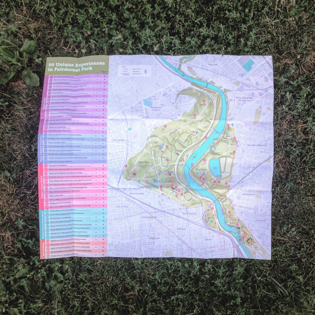 You can finally have your very own map of Fairmount Park! Thumbnail