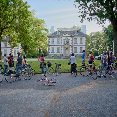 Guided Bike Tour of the Meadow Mansions