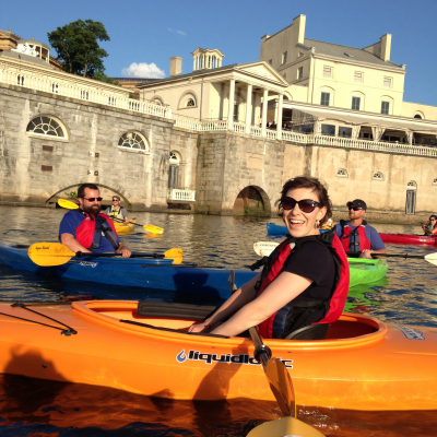 Sunset on the Schuylkill: Evening Guided Kayak Tou...