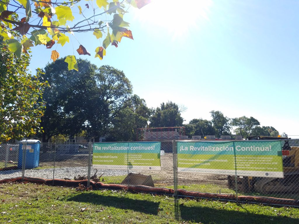 Update: Hunting Park Handball Courts Thumbnail