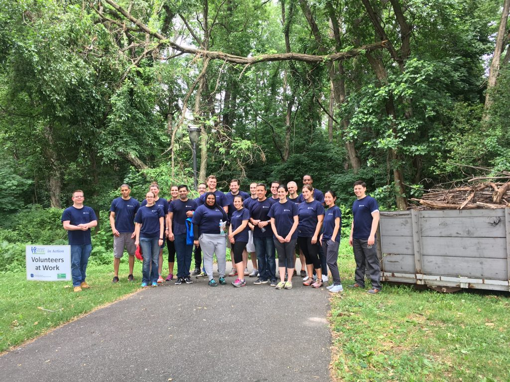 Why Franklin Park, LLC volunteers in Fairmount Park every year Thumbnail