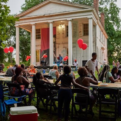 Art, performances, and conversation at Hatfield Ho...