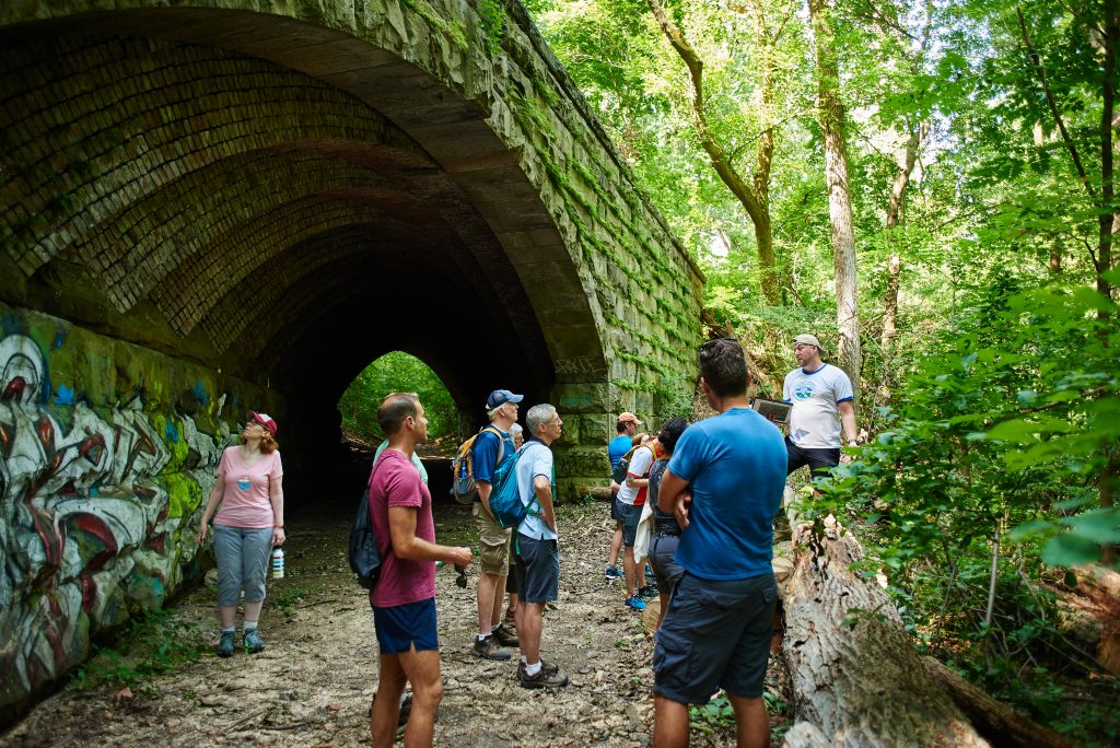 The Trolley Trail in Fairmount Park is growing Thumbnail