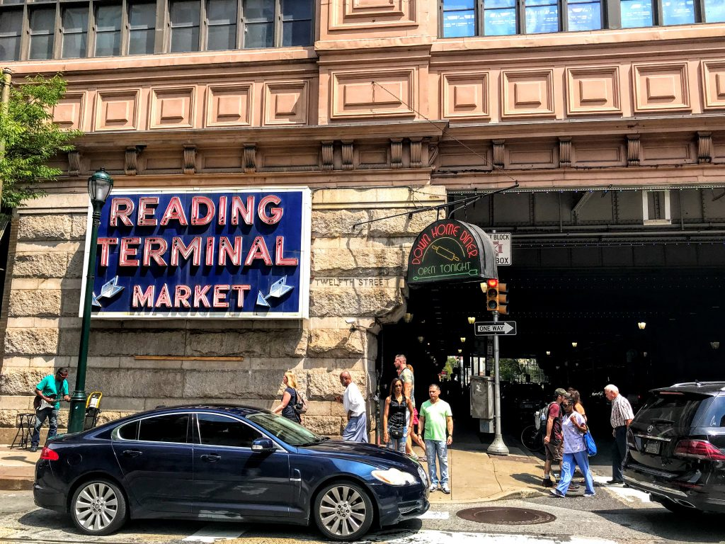 Finding the way at Reading Terminal Market Thumbnail