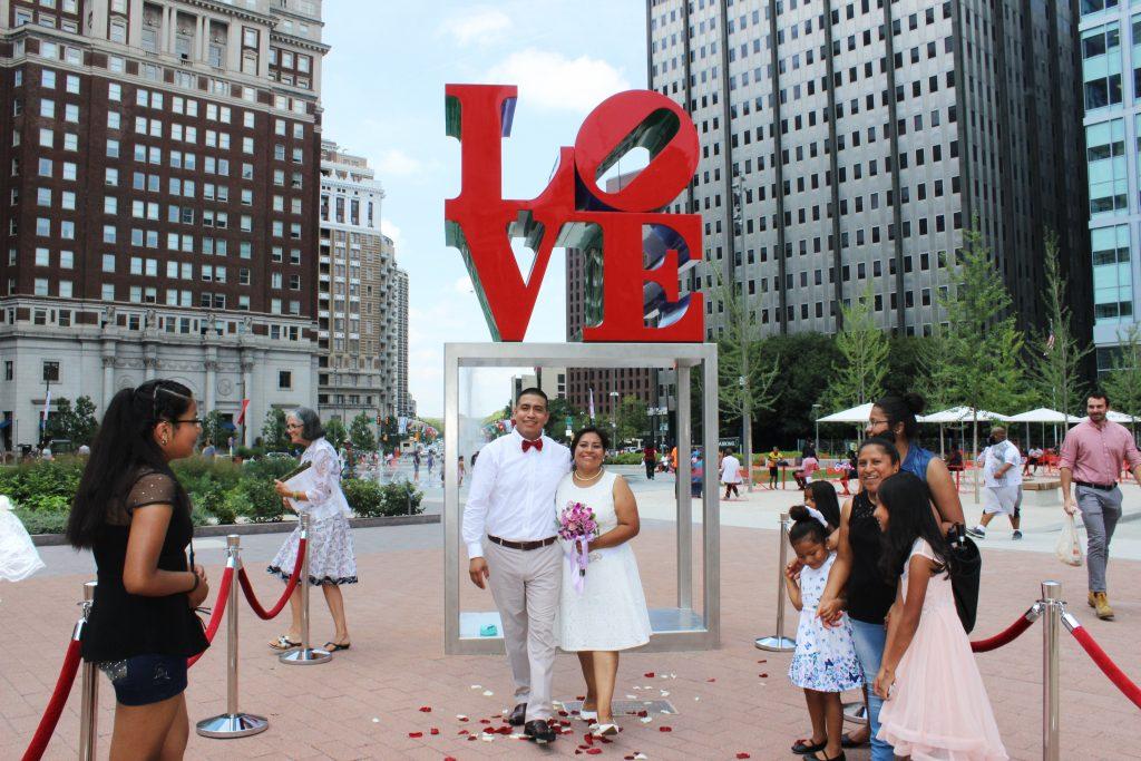 Wedding Wednesday at LOVE Park Thumbnail