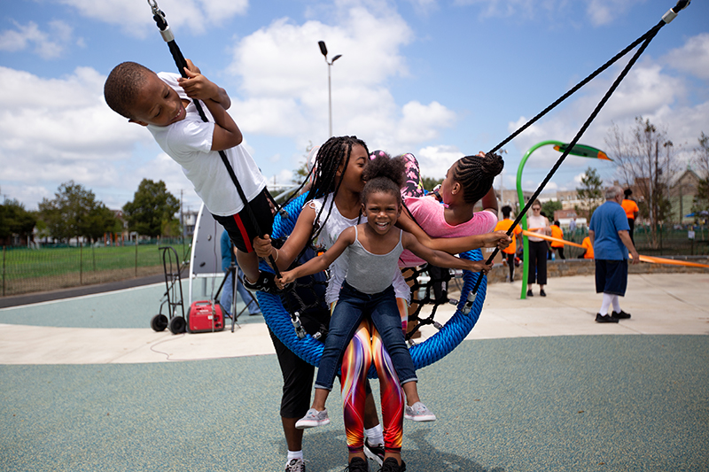 How Lanier Playground is bringing the community together again Thumbnail