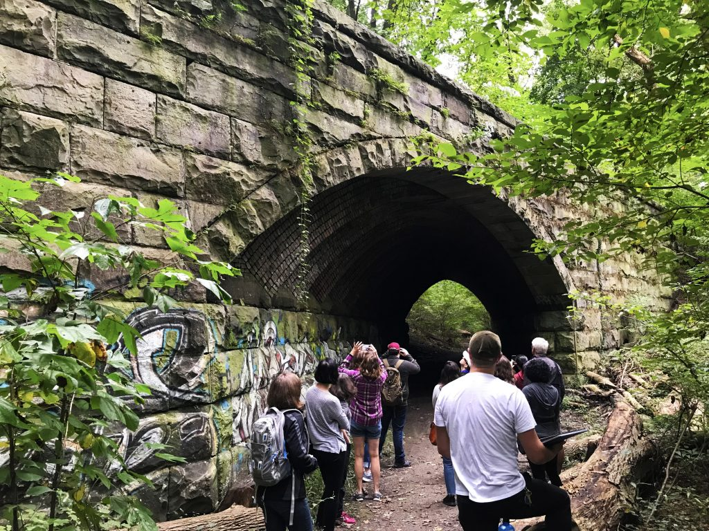 Go take a hike! Fairmount Park Trolley Trail Thumbnail