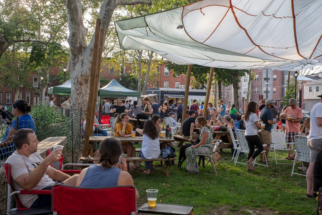 Parks on Tap at Dickinson Square Park Thumbnail