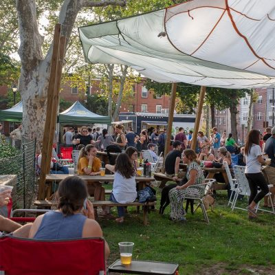 Parks on Tap at Dickinson Square Park