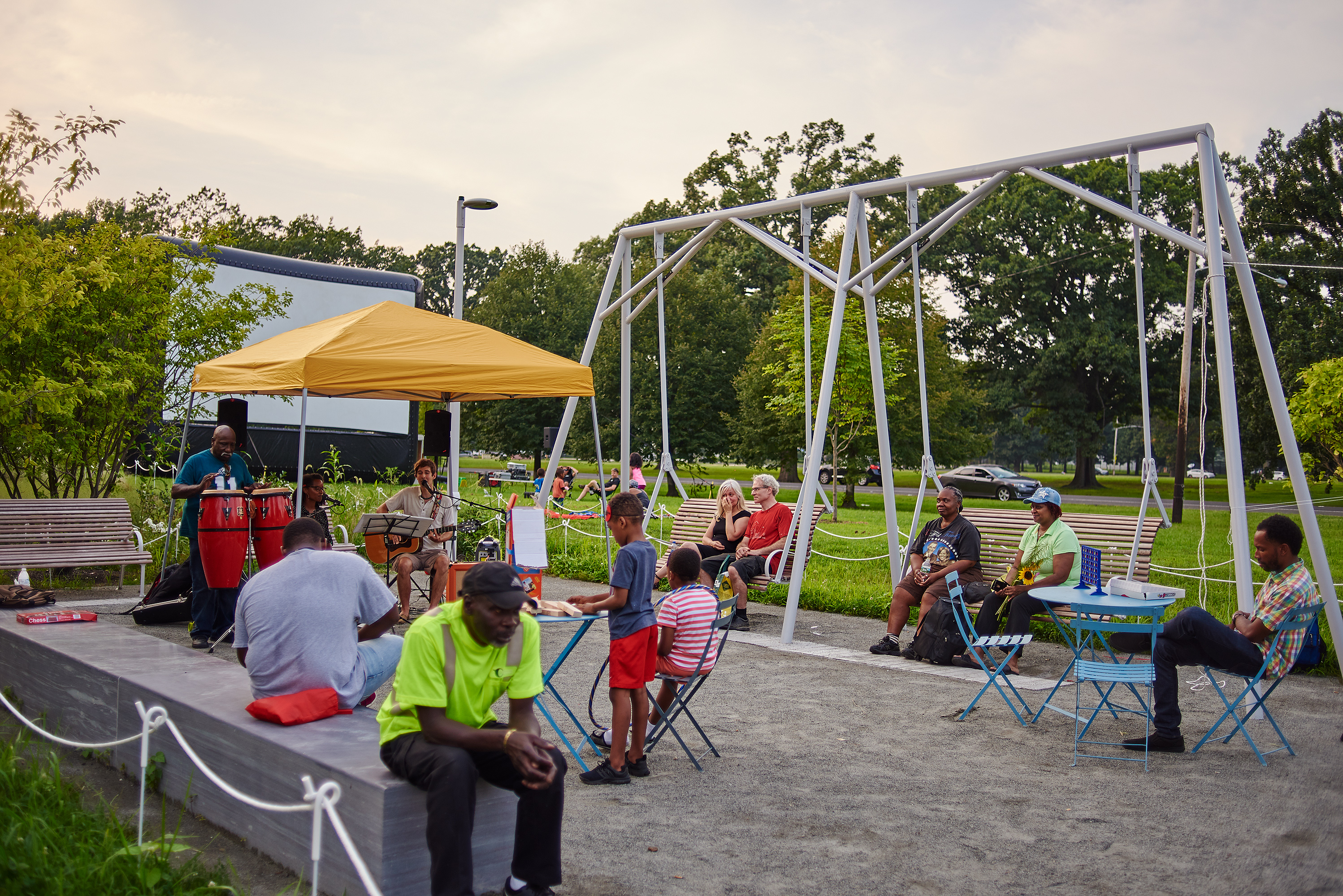 Reimagining The Civic Commons Fairmount Park Conservancy