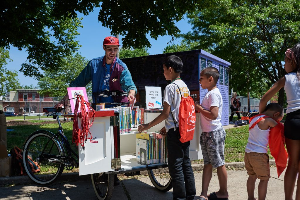 Philly parks, libraries team up for summer reading series Thumbnail