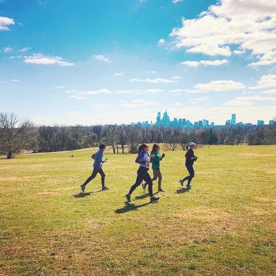 Guided Run along Belmont Plateau Trails