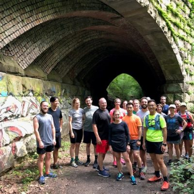 Guided Run along the Trolley Trail