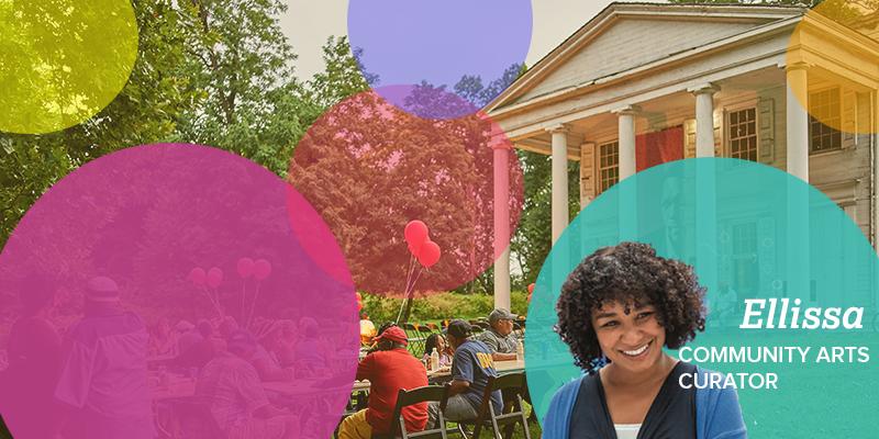 Meet Ellissa Collier, community arts curator of Hatfield House Thumbnail