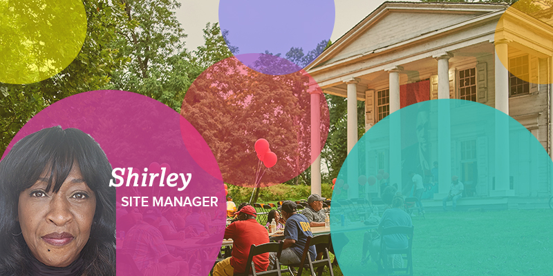Meet Shirley Slaughter, Strawberry Mansion resident and site manager of the Hatfield House Thumbnail
