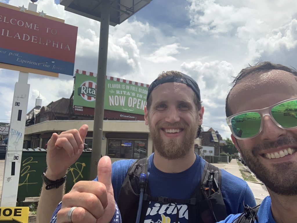 Meet the runner who ran 76 miles for Philly parks Thumbnail