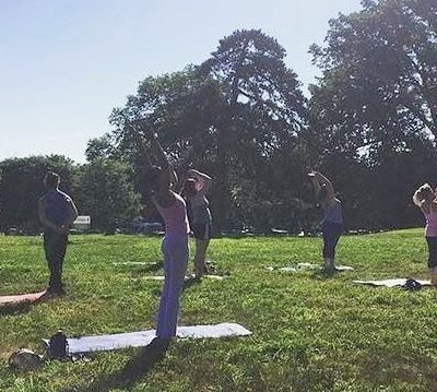 Yoga at Lemon Hill