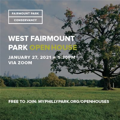 Virtual Open House: West Fairmount Park