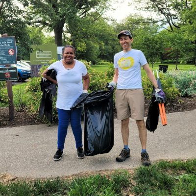 Trash Grab Tuesday: Parkside in the Centennial Dis...