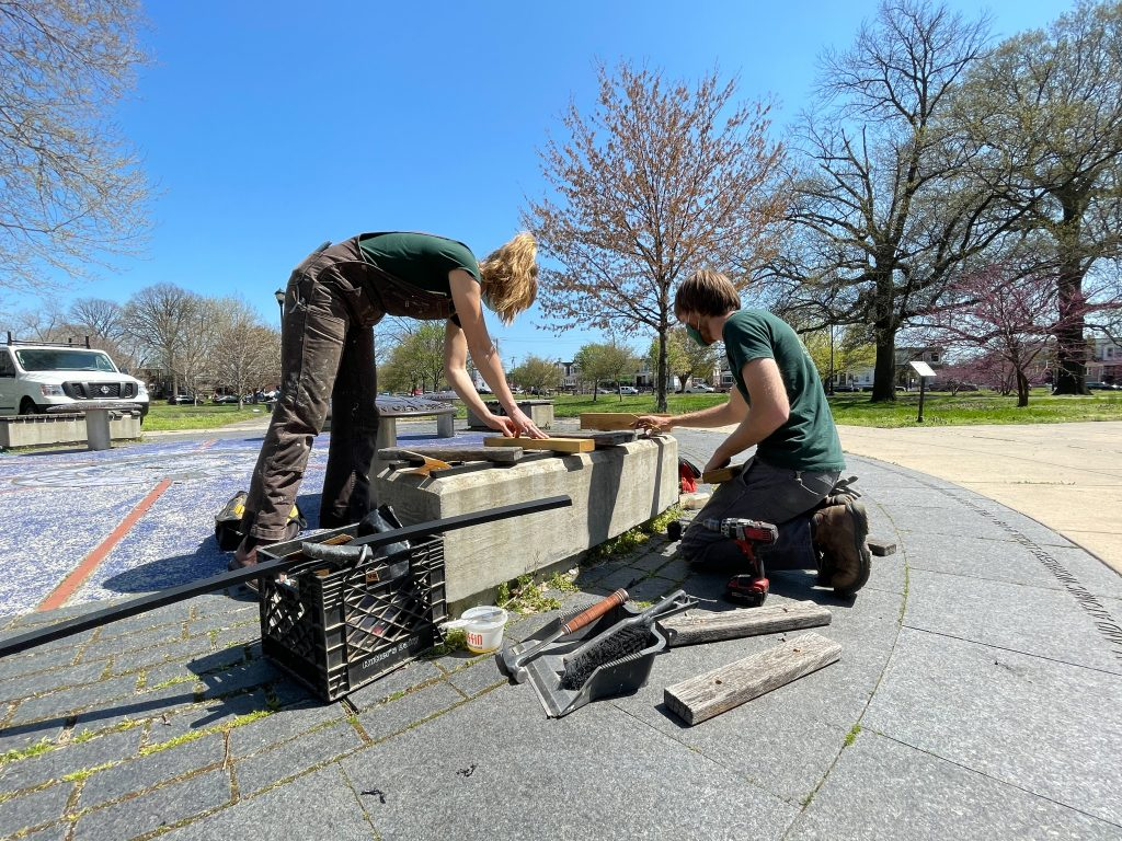 In the Field: Our conservation team restores historic guardhouse, Glen Foerd Mansion, and more Thumbnail