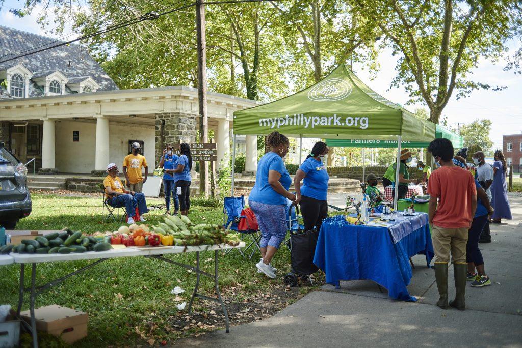 Walk and Talk at Parkside Farmers Market Thumbnail