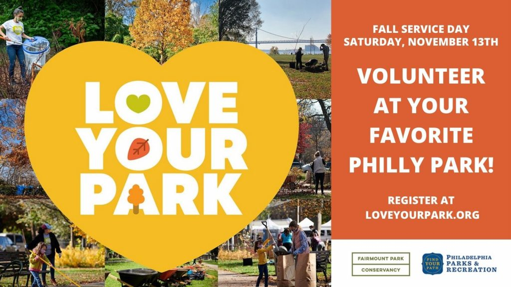 Everything to know about Love Your Park Fall Service Day 2021 Thumbnail